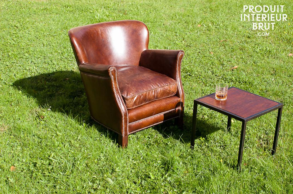 professor turner sessel cocktailsessel aus vintage leder. Black Bedroom Furniture Sets. Home Design Ideas