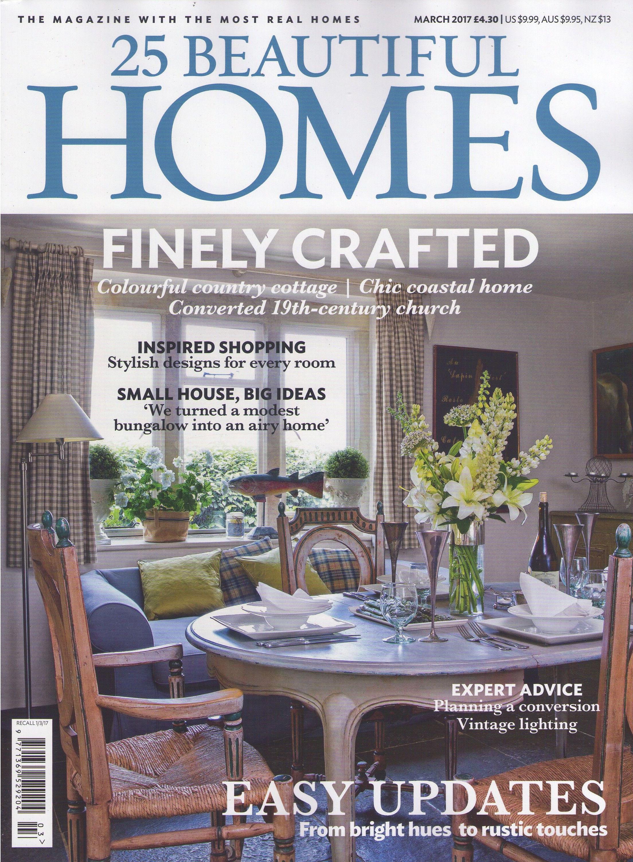 25 Beautiful Homes März 2017