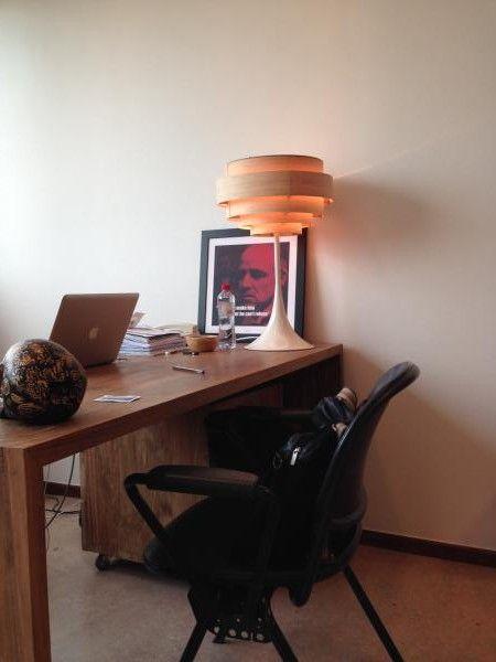 Die Lampe Bor�ale: ausgeflippter Stil und warmes Licht. Wir sind echte PIB Fans geworden!