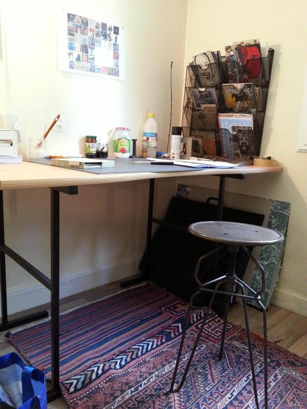 Mein Postsortierer ist ideal in meinem Studio, und macht Leute neidisch...