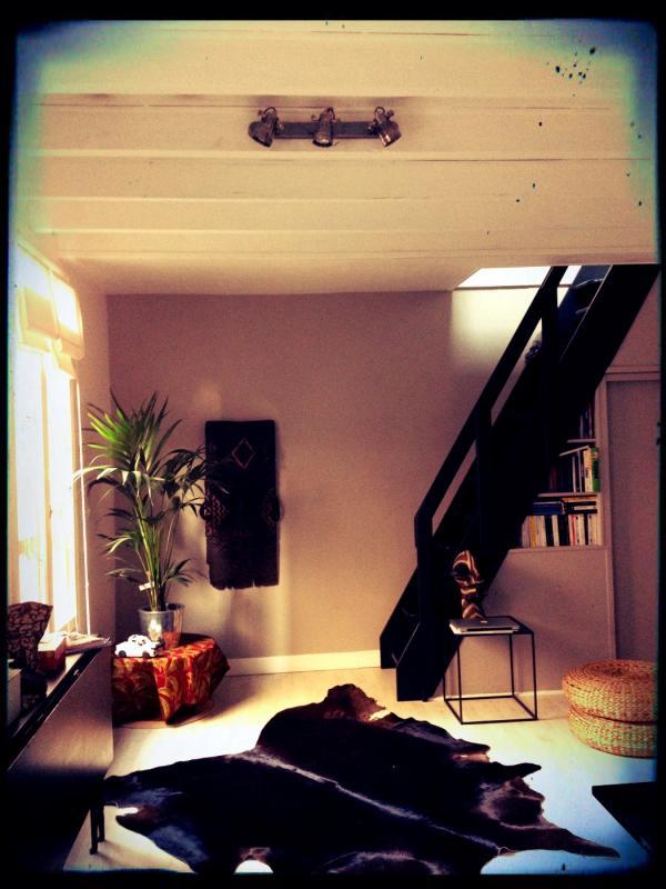 Perfektes Aussehen f�r den Industrie/Vintage Stil meines Wohnzimmers mit der Wandleuchte Bistro!