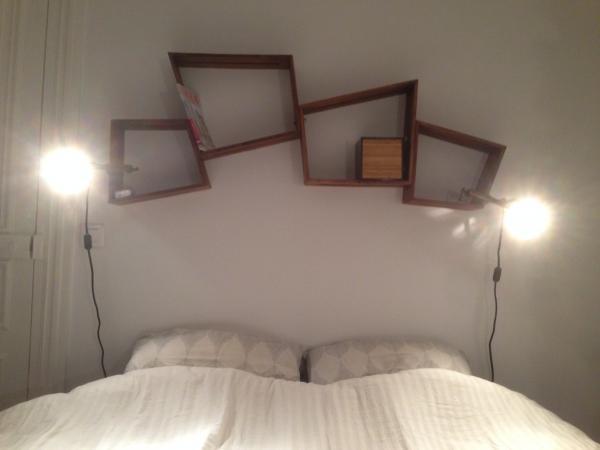 2 Paare Schubfächern Stockholm über unserem Bett, schön und praktisch! Wir würden noch ein Paar dazu kaufen, wenn wir mehr Platz hätten