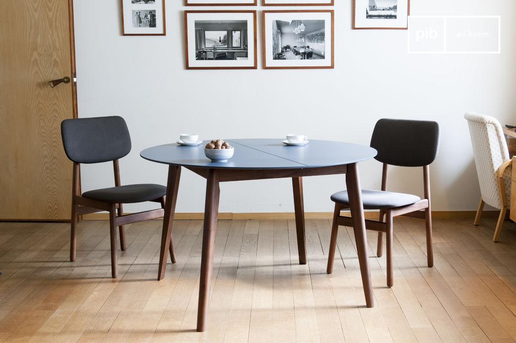 ausziehbarer tisch cristina elegant und farbenfroh pib. Black Bedroom Furniture Sets. Home Design Ideas