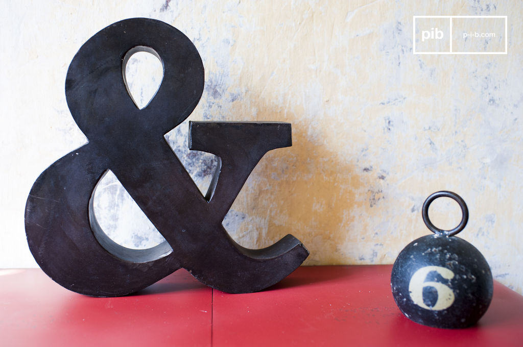kleines und zeichen kleines zeichen aus metall pib. Black Bedroom Furniture Sets. Home Design Ideas