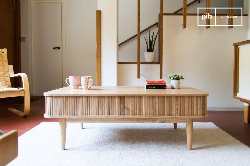 ritz vorhang couchtisch heller skandinavischer stil und pib. Black Bedroom Furniture Sets. Home Design Ideas