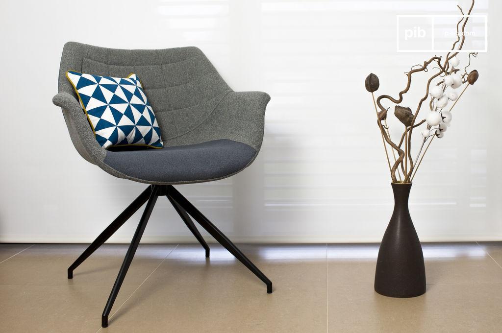 sessel grimsson grau ein sessel mit charmanten pib. Black Bedroom Furniture Sets. Home Design Ideas