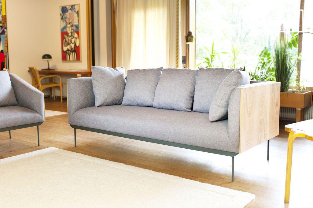 sofa jackson auf feinen beinen hoher komfort pib. Black Bedroom Furniture Sets. Home Design Ideas