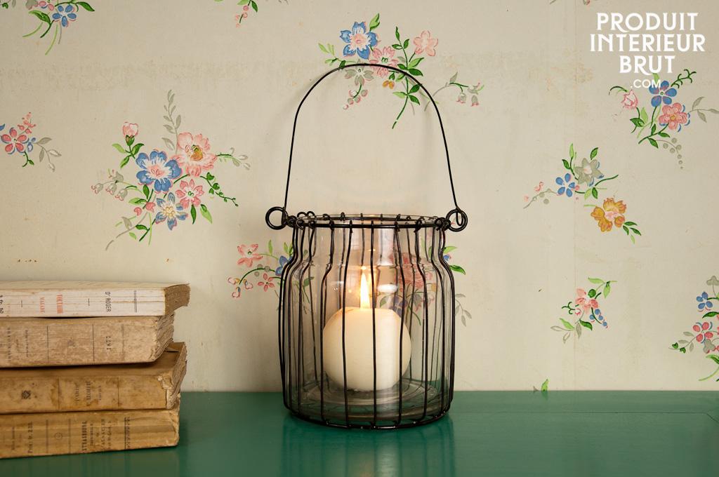 windlicht l a ein hauch romantik zum aufh ngen oder pib. Black Bedroom Furniture Sets. Home Design Ideas