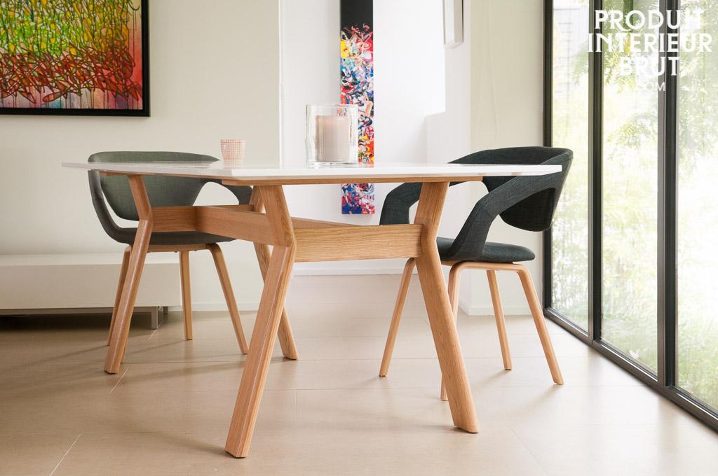 Tisch augst skandinavische helligkeit f r das esszimmer - Table haute 6 places ...