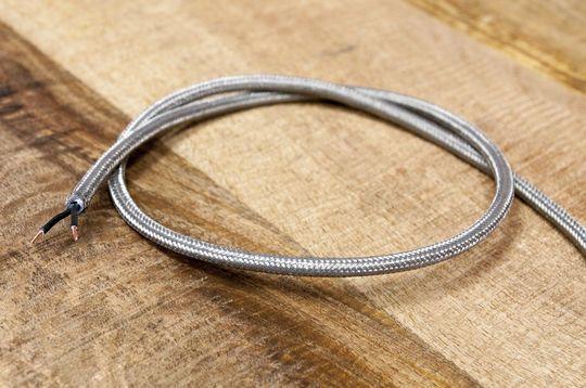 1m metallisches geflochtenes Kabel