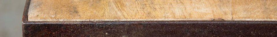 Materialbeschreibung 3-Fächer Atelier-Regal