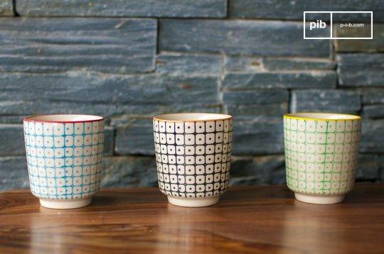 3 Kaffeetassen Brüni