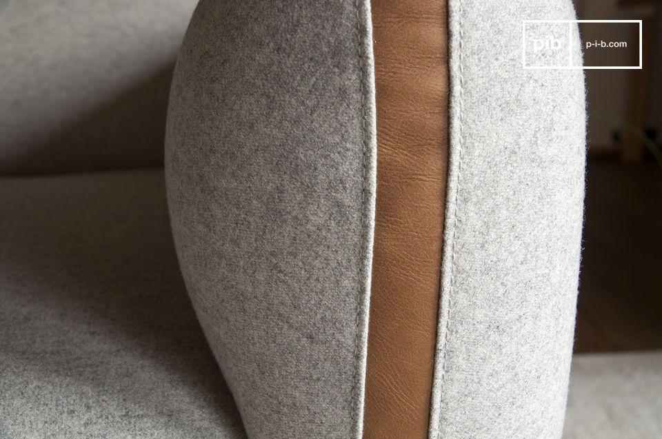 Das Sofa Britta hat nicht nur ein originelles Design