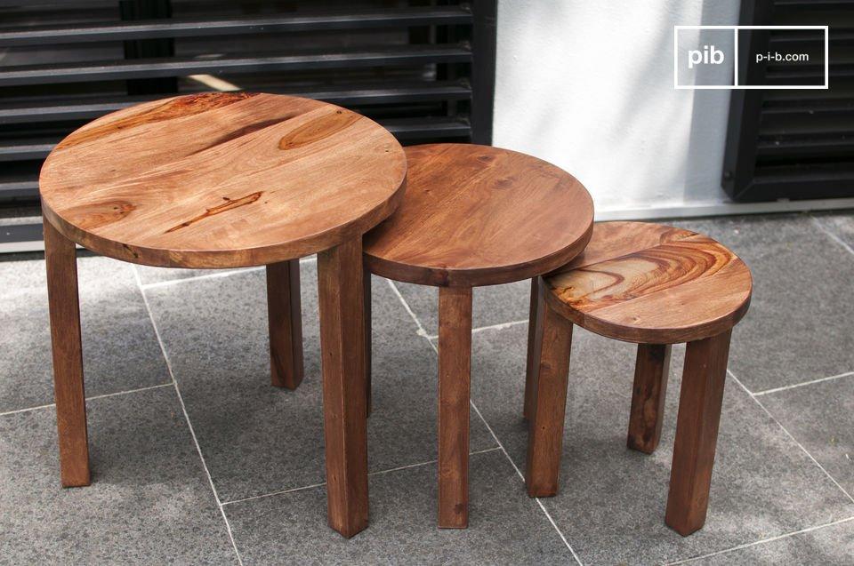 Massivholz und praktisch