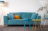 Abziehbares Sofa Dakota Blau