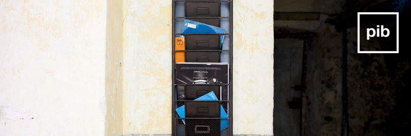 Accessoires industriel bald zurück in der Sammlung
