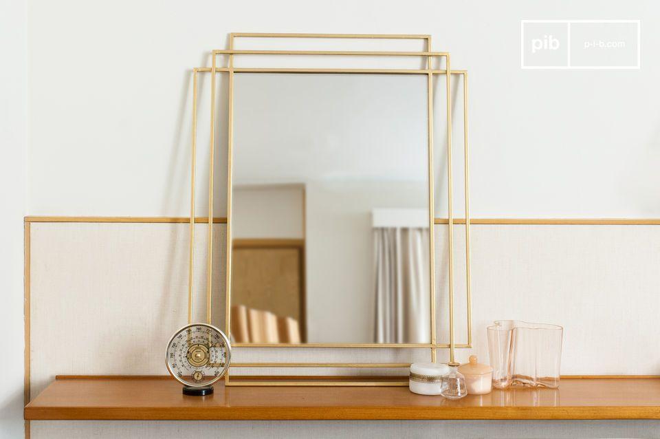 Alma goldener Spiegel
