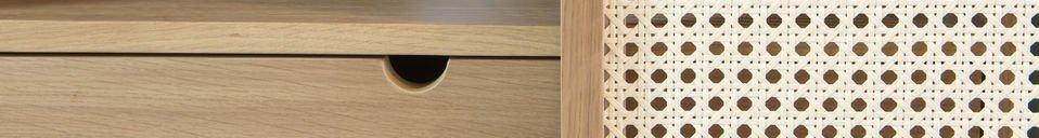 Materialbeschreibung Anrichte aus Eichenholz Tammea