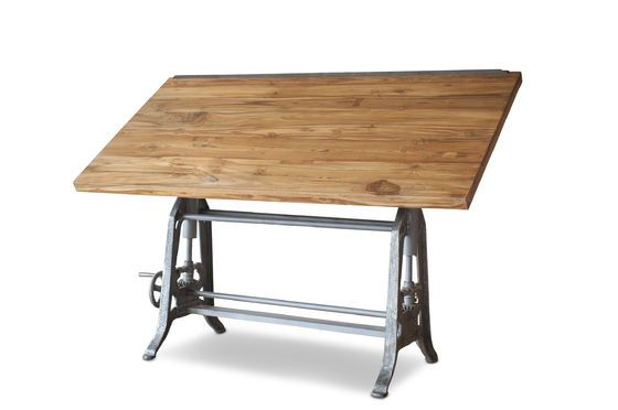 Architekten-Tisch aus Teakholz 1928 ohne jede Grenze