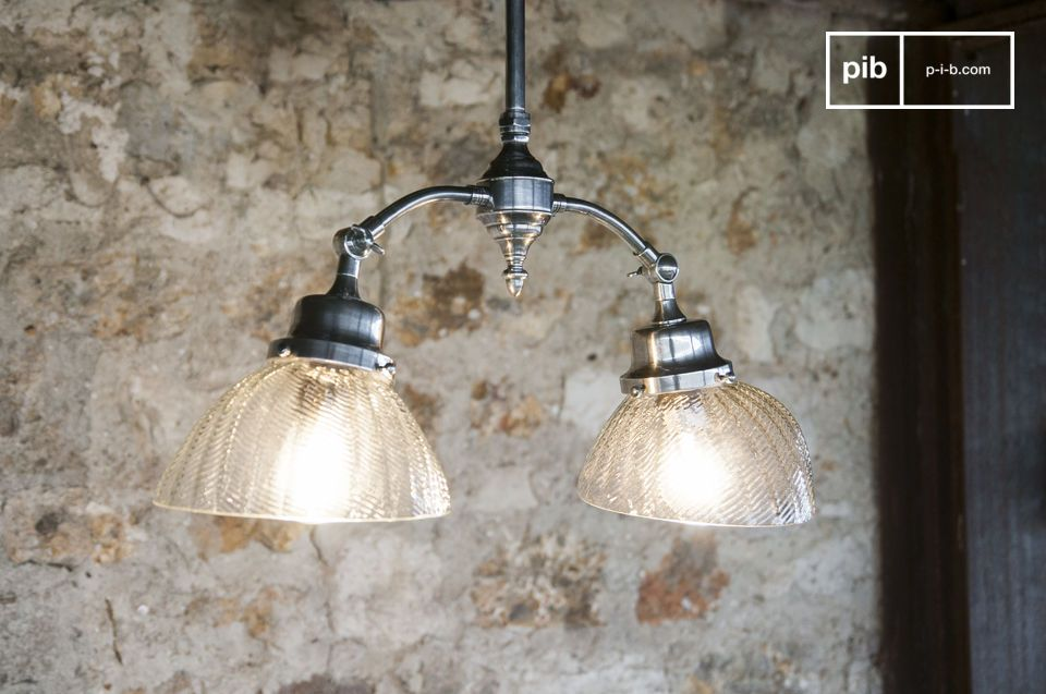 Art Nouveau Deckenlampe Haussmann