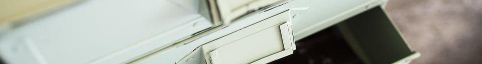 Materialbeschreibung Aufbewahrungskästchen Delray