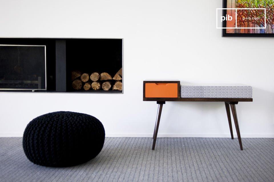 Ein praktischer und schöner Vintage-Sitz
