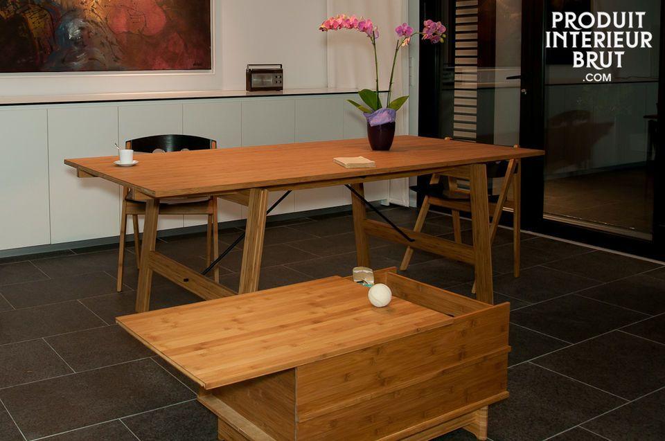 Sie ist eine exzellente Sitzgelegenheit bei Tisch oder eventuell gegen eine Wand gestellt und