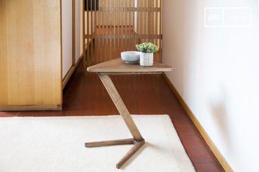 Beistelltisch aus Holz Fleetwood
