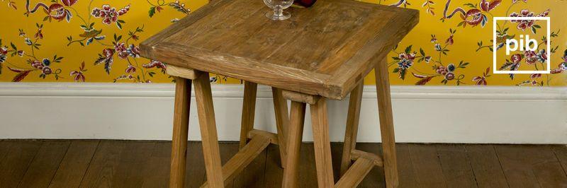 beistelltisch landhaus shabby chic stil pib. Black Bedroom Furniture Sets. Home Design Ideas