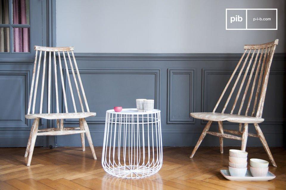 Geometrie, Metallstruktur und skandinavisches Design