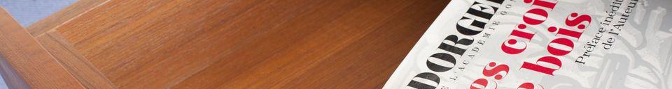 Materialbeschreibung Beistelltisch mit Schublade Lathen