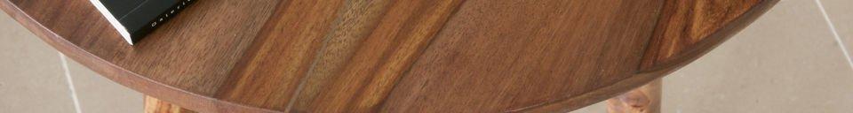 Materialbeschreibung Beistelltisch Pencil