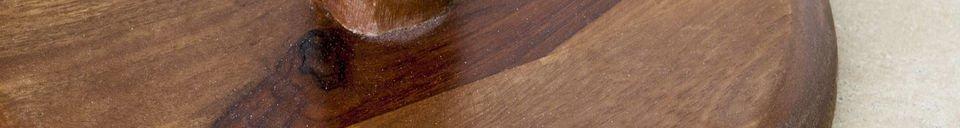 Materialbeschreibung Beistelltisch Piwy
