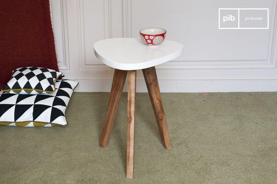Gemeinsam mit dem Tisch mit abnehmbarer Tischplatte der gleichen Kollektion