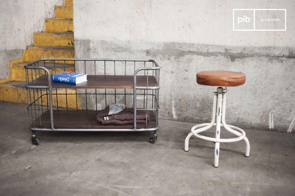 TV-Möbel oder Sideboard, 100% industrieller Vintage Charakter