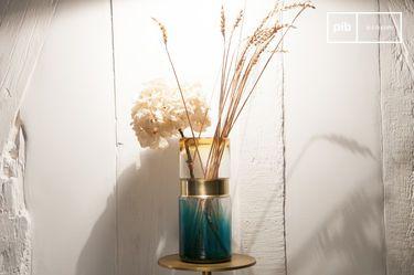 Brassbelt Glasvase