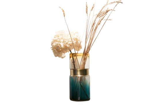 Brassbelt Glasvase ohne jede Grenze