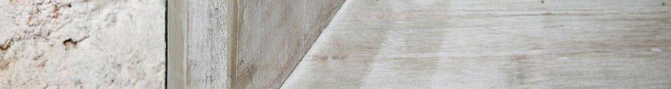 Materialbeschreibung Brasserie-Tafel 115x190cm