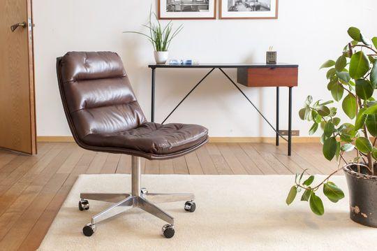 Breunor Leder Bürostuhl