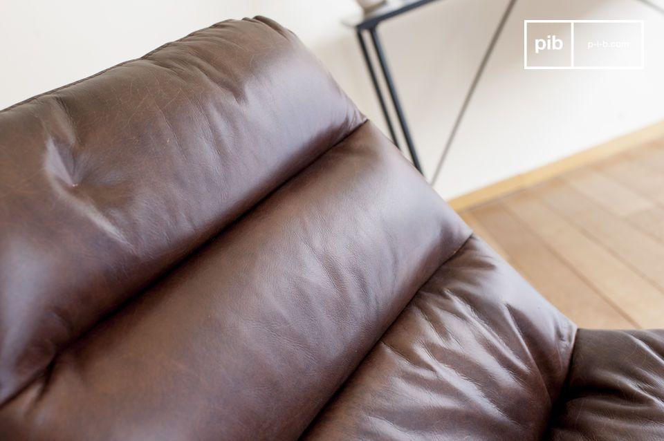 Ein eleganter und besonders langlebiger Bürostuhl aus Leder.
