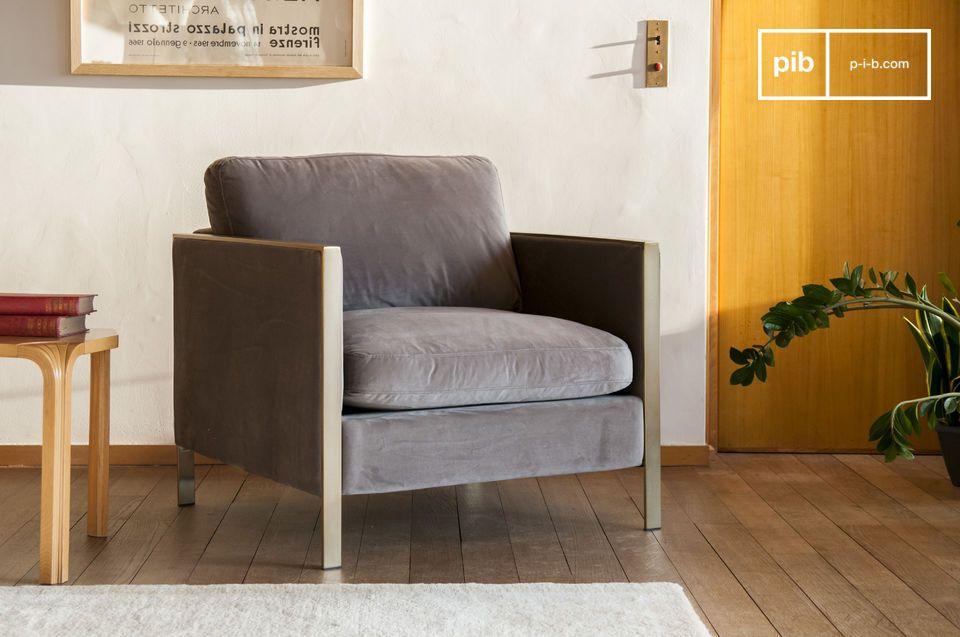 Brompton Samt Sessel