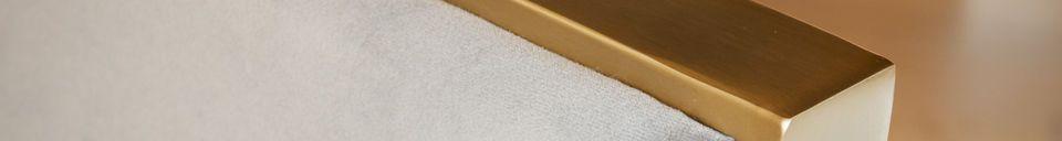 Materialbeschreibung Brompton Samt Sessel