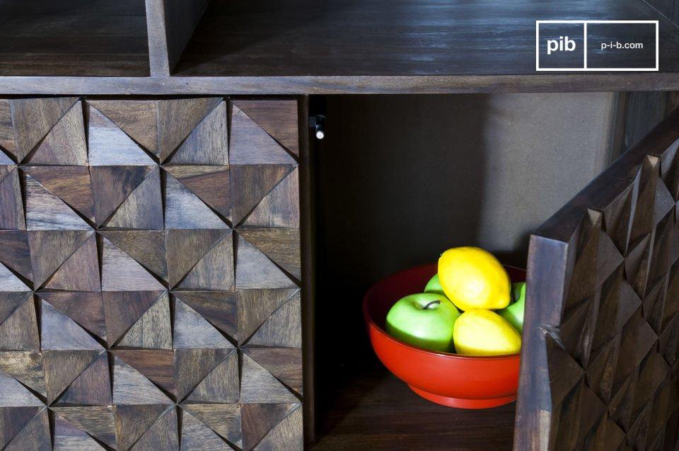Geometrische Reliefe für einen Look 100% vintage