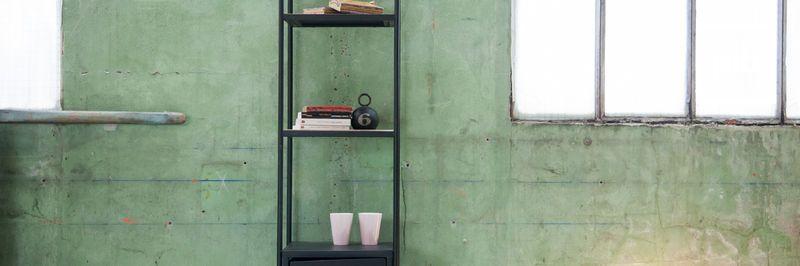 Bücherregal industrial bald zurück in der Sammlung