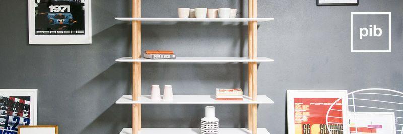 Bücherregal retro skandinavisch bald zurück in der Sammlung