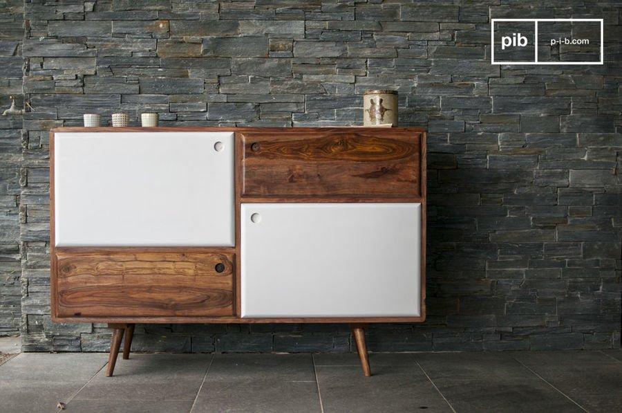 skandinavische mobel was macht nordisches design aus buffet aus holz 1969