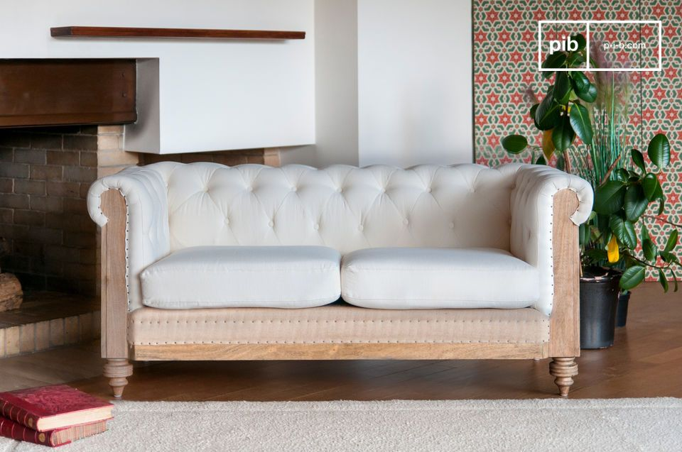 Chesterfield Montaigu 2-Sitzer Sofa