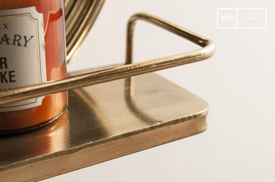 Der Clémentine Spiegel ist ein praktisches Wand-Accessoire mit einer eleganten Retro-Linie zum