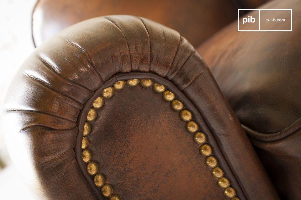 Der Komfort ist nicht zu übertreffen: Die Rückenlehne ist mit hochdichtem Schaum gepolstert