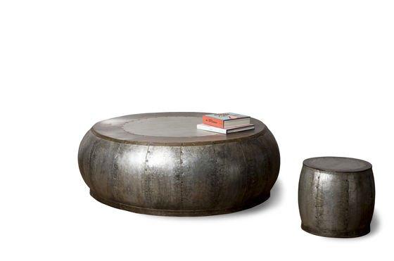 Couchtisch aus Metall Tubisteel ohne jede Grenze